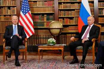 Concluye la primera reunión privada entre Biden y Putin en Ginebra - RCN Radio