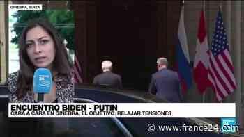 Informe desde Ginebra: culminó la primera parte del encuentro entre Biden y Putin - FRANCE 24