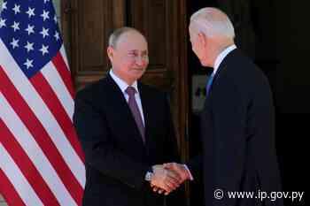 Empieza la histórica cumbre de Putin y Biden en Ginebra | - ip.gov.py