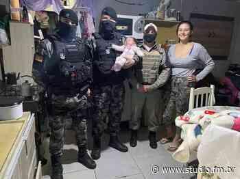 Policiais Militares salvam bebê de 1 mês de vida engasgado em Torres - Rádio Studio 87.7 FM | Studio TV | Veranópolis