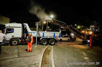 Prefeitura de Manaus inicia recuperação da avenida das Torres - EM TEMPO