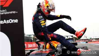 Max Verstappen beats Lewis Hamilton to pole in France