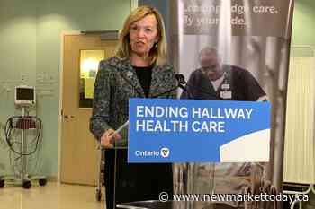 Newmarket-Aurora MPP remains health minister in Ford cabinet - NewmarketToday.ca