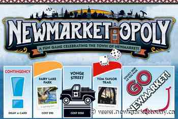 Pass Go, buy Riverwalk Commons, Old Town Hall in Newmarket version of Monopoly - NewmarketToday.ca