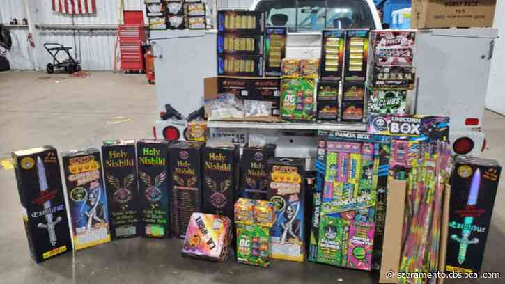 Nearly 400 Pounds Of Illegal Fireworks Seized From Stockton Home