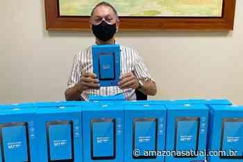 Sindicato doa tablets para agilizar vacinação contra a Covid em Manaus - Amazonas Atual