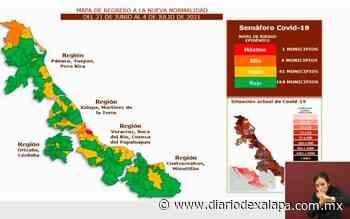 Xalapa, Semáforo Naranja...y el puerto Rojo; a partir del 21 de junio - Diario de Xalapa