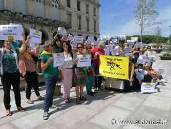 Bayonne : Etorkinekin marque la journée internationale des réfugiés - Sud Ouest
