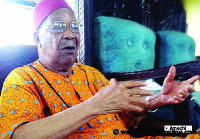 Dot-in-circle: Amechi lambasts Buhari