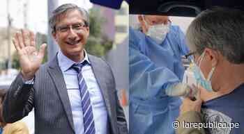 Federico Salazar recibió vacuna contra la COVID-19: ¡Es un verdadero alivio! - LaRepública.pe