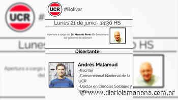 Salazar anunció el inicio de un ciclo de conferencias - Diario La Mañana - Diario La Mañana