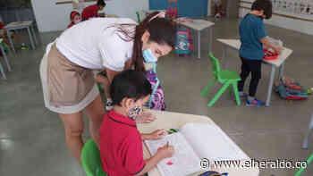 Bureche, el único colegio de Santa Marta con esquema de alternancia - EL HERALDO