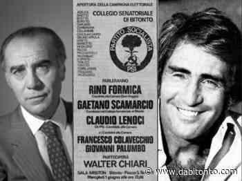 La Politica, ieri e oggi/Walter Chiari a Bitonto e la stagione dei vip nei partiti - da Bitonto