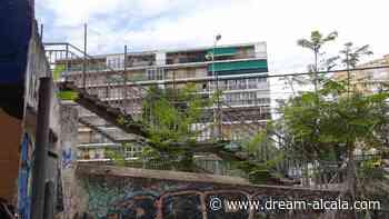 Reparación de la pasarela peatonal de la calle Gaceta de Alcalá - Dream! Alcalá