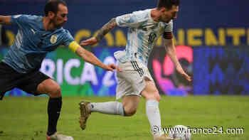 Argentina de Messi golpeó la mesa y avisa a Brasil - FRANCE 24