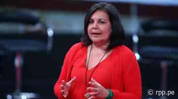 """Rocío Silva Santisteban: Censura a la Mesa Directiva """"es una excusa para desestabilizar la democracia"""" - RPP Noticias"""
