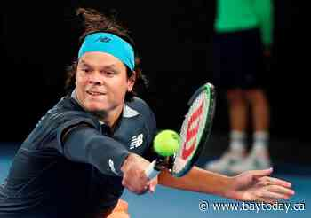 Milos Raonic pulls out of Wimbledon with calf injury