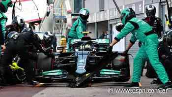 Mercedes delante de Red Bull en el primer libre del GP de Francia - ESPN