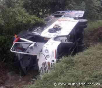 Accidente de flota entre Barranquilla y Cartagena deja 21 personas heridas - El Universal - Colombia