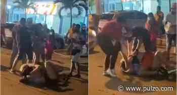 [Video] Caleñas con miles de seguidores armaron 'bochinche' en las calles de Cartagena - Pulzo.com