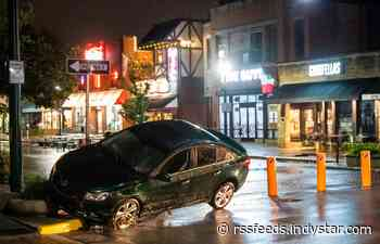 Storms bring estimated 9 inches of rain, flash flooding to Bloomington, southern Indiana