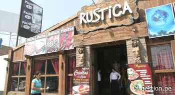 Capatur: restaurantes Rústica estarían analizando expandir su cadena al balneario de Paracas - Diario Gestión