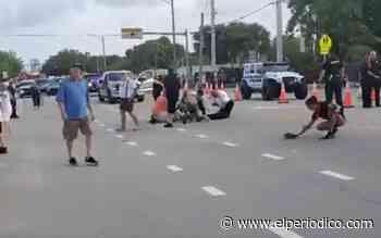 Un muerto en un desfile del Orgullo Gay en Florida tras ser arrollado por un camión - El Periódico