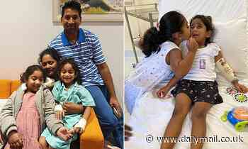 Biloela asylum seekers: Murugappan family reunited after Tamil girl's release from hospital