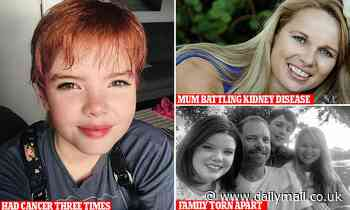 Incredible bravery of 14-year-old girl who has battled cancer three times in just four years