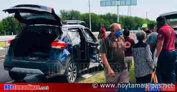 Choque deja dos lesionados en la carretera Victoria-Matamoros - Hoy Tamaulipas