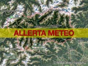 Allerta Meteo Valle d'Aosta: codice giallo per temporali forti - MeteoWeb