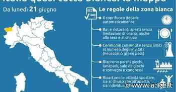 Tutta Italia zona bianca da lunedì, salvo la Val d'Aosta - l'Adige - Quotidiano indipendente del Trentino Alto Adige
