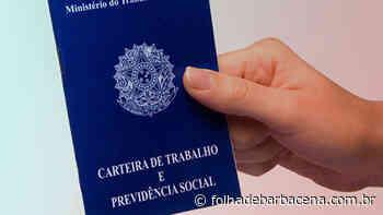 Sine Barbacena oferece duas vagas de emprego | Jornal Folha de Barbacena - Folha de Barbacena