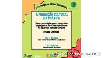 Instituto Curupira oferece curso online de Produção Cultural | Jornal Folha de Barbacena - Folha de Barbacena