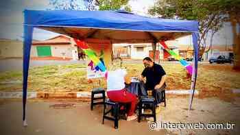 """Cultura de Cravinhos realiza o Projeto """"Tenda Cultural"""" - Intertv Web"""