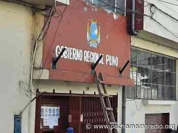 Putina: exigen a GORE Puno concluir obras de arrastre - Pachamama radio 850 AM