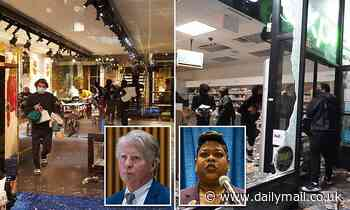 Fury as New York prosecutors DROP looting charges against hundreds arrested last summer