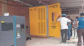 Iglesia logra instalación de planta de oxígeno en Tumbes - LaRepública.pe