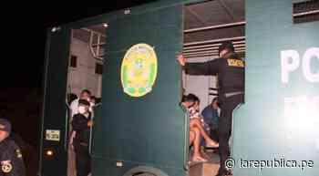 Tumbes: intervienen a agentes en fiesta COVID-19 - LaRepública.pe