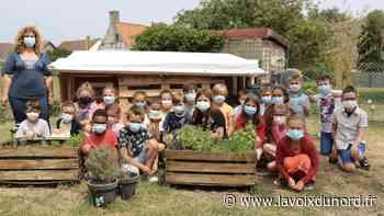 Marck: un récupérateur d'eau construit par les élèves de l'école du Moulin - La Voix du Nord