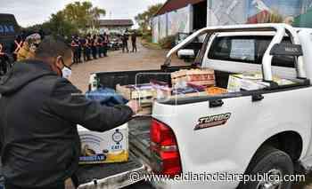 Solidaridad: de San Juan a San Luis con comida para quienes buscan a Guadalupe - El Diario de la República