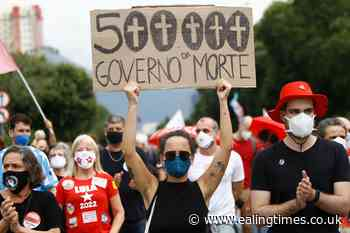 Protests against president as Brazil tops 500000 deaths - Ealing Times