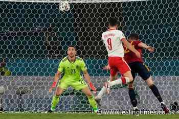 Robert Lewandowski earns Poland point as profligate Spain pay the penalty - Ealing Times
