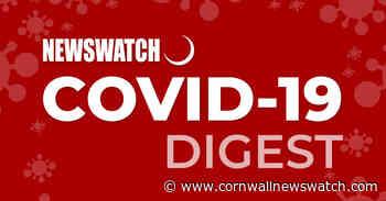 Newswatch COVID-19 Digest: Saturday June 19, 2021 – Cornwall Newswatch - Cornwall Newswatch