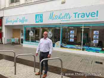 Cafe owner bewildered by mystery cycle racks in London Road, Bognor