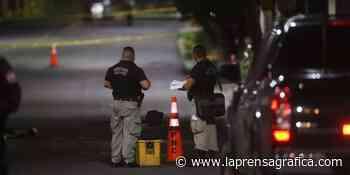 Asesinan a hombre sobre la avenida Bernal, San Salvador - La Prensa Grafica