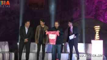 Así fue el homenaje a Egan Bernal en Zipaquirá - Marca Claro Colombia