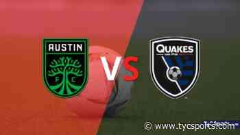 Comenzó el segundo tiempo y Austin FC está empatando con San José Earthquakes en el estadio Q2 Stadium - TyC Sports