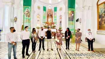 En Comitán, Rutilio Escandón inaugura la rehabilitación del Templo de San José » Diario Chiapas Hoy - Diario Chiapas Hoy