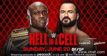 WWE Hell in a Cell 2021: How to watch, updated card and start times     - CNET